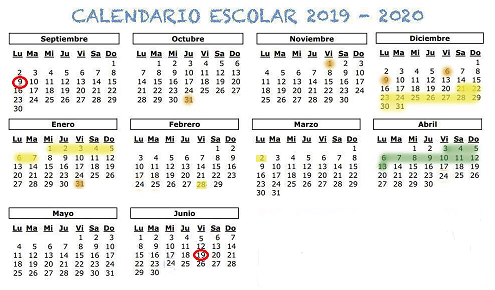 Calendario 2019 Escolar 2020 Madrid.Blog De Coles Y Guardes Becas Y Ayudas Disfraces Medio Ambiente